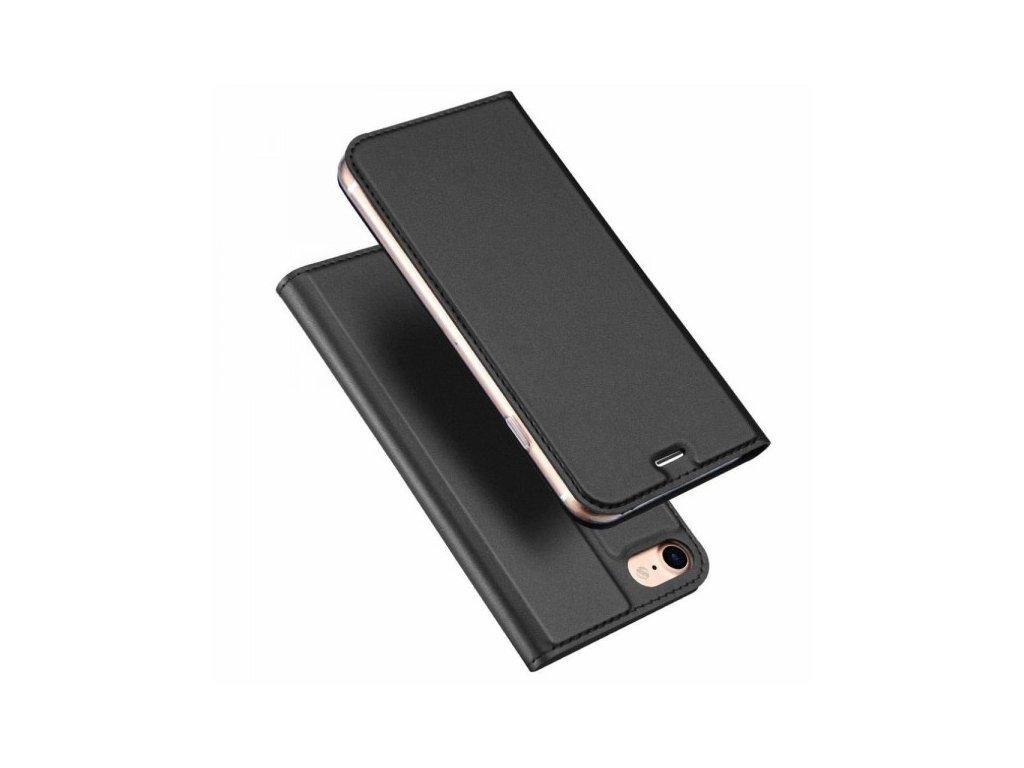 DUX DUCIS Magnetické Skin Book Phone 7/8/SE20 šedá