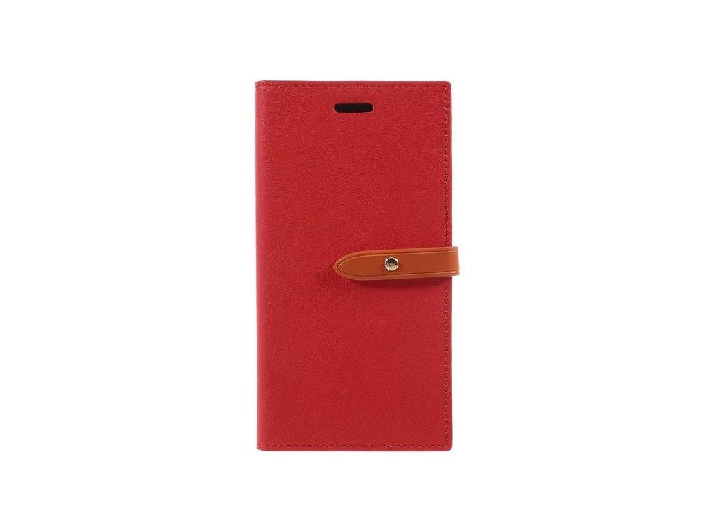 Pouzdro / kryt pro iPhone 7 / 8 / SE (2020) - Mercury, Milano Diary ORANGE/ORANGE