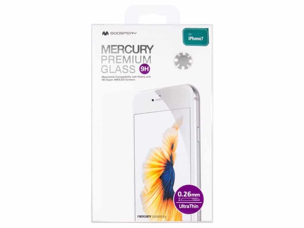 Ochranné tvrzené sklo na iPhone 7 / 8 / SE (2020) - Mercury, Premium Glass