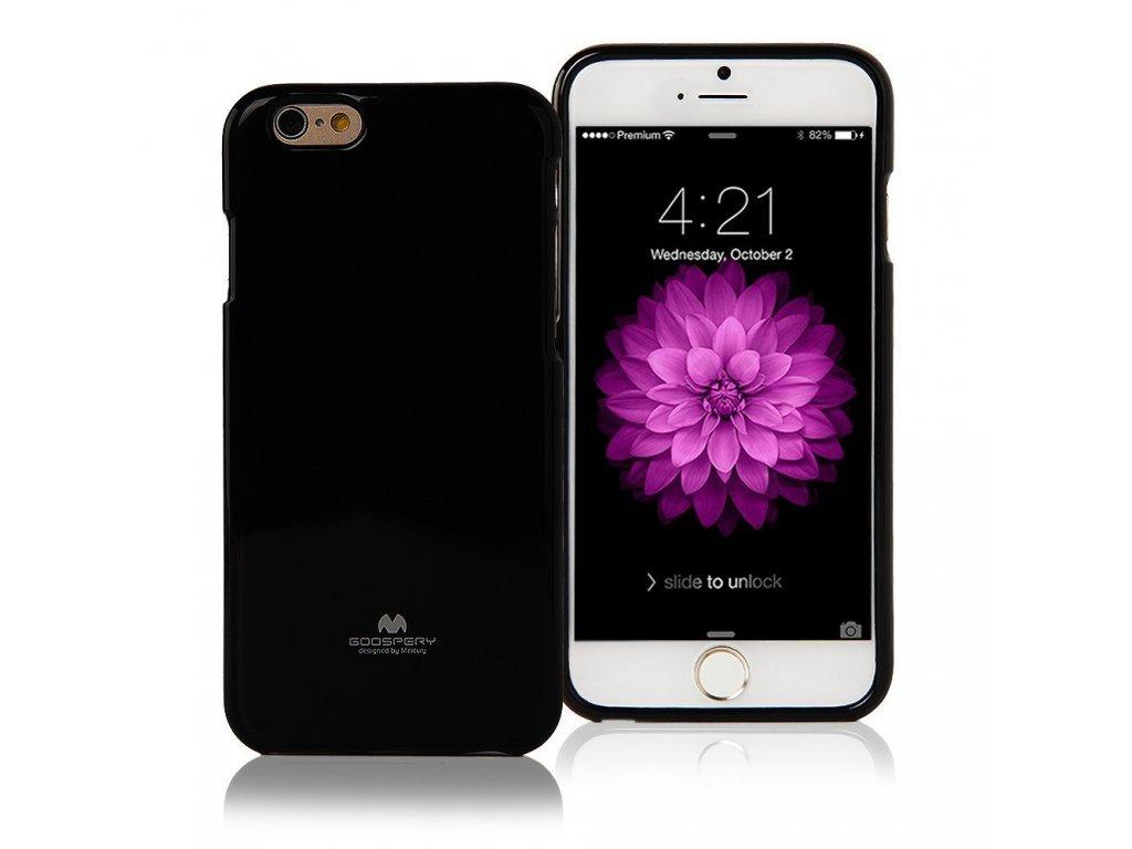 6842 pouzdro kryt pro apple iphone 6 6s mercury jelly case black