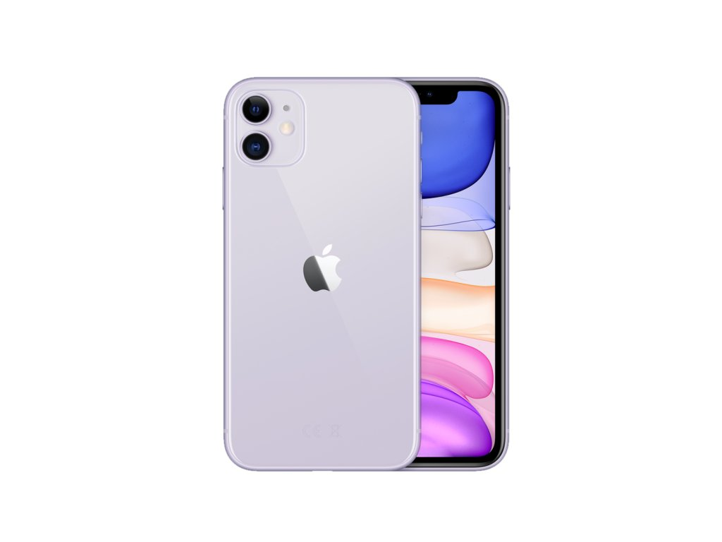 iphone 11 fialový