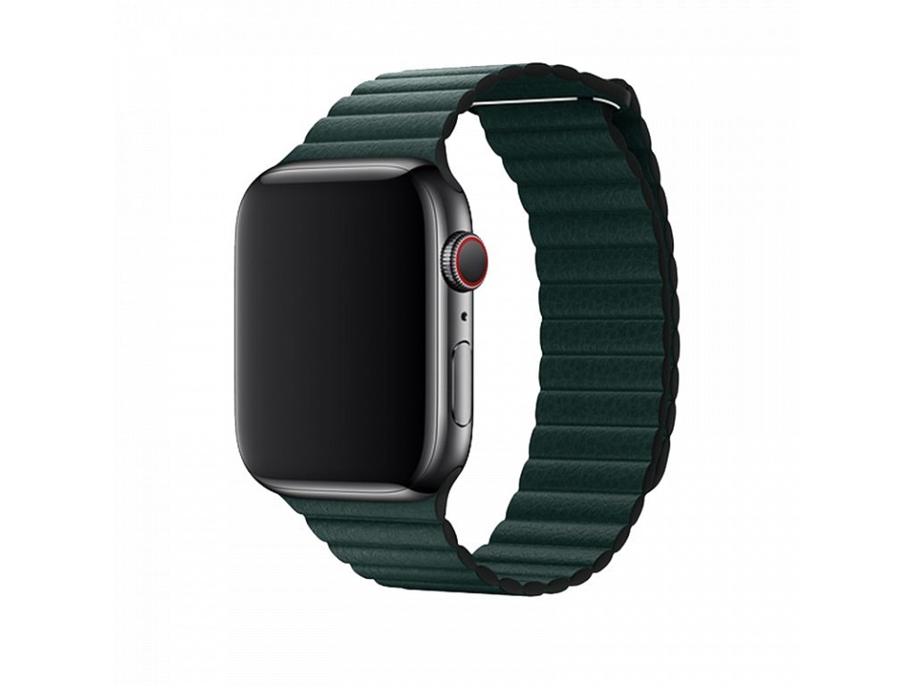 17921 reminek pro apple watch 42mm 44mm devia leatherloop forest green.png