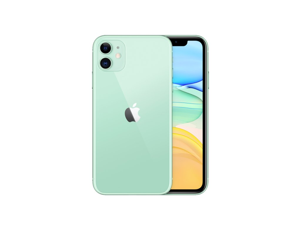 iphone 11 zelená
