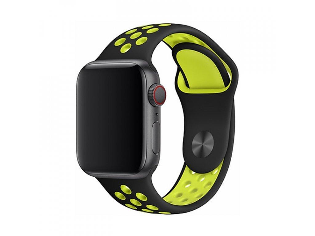 17783 reminek pro apple watch 38mm 40mm devia sport2 yellow