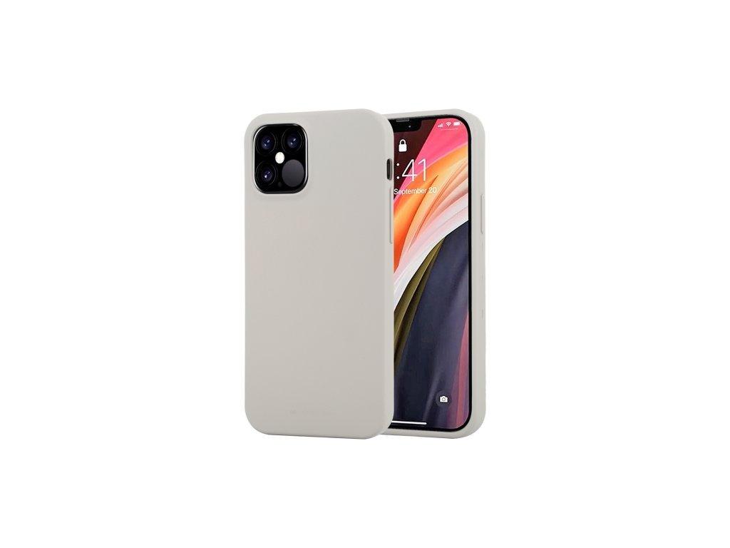 37187 ochranny kryt pro iphone 12 12 pro mercury soft feeling stone