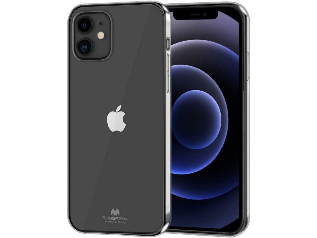 36803 ochranny kryt pro iphone 12 12 pro mercury jelly transparent