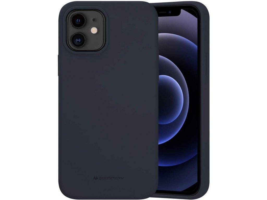 36530 ochranny kryt pro iphone 12 12 pro mercury silicone navy