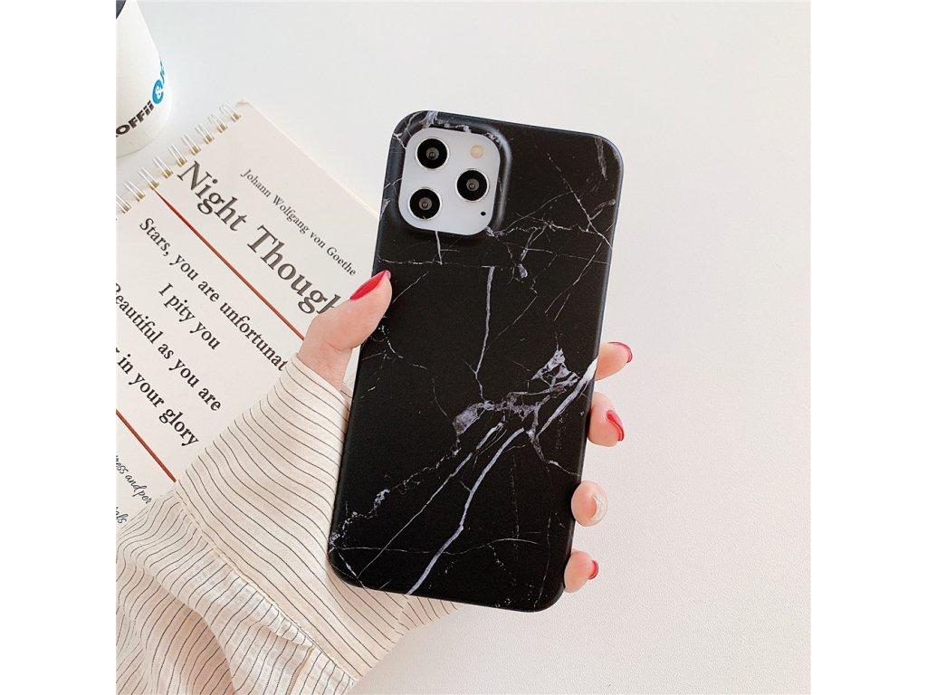 34352 ochranny kryt pro iphone 12 12 pro marble black