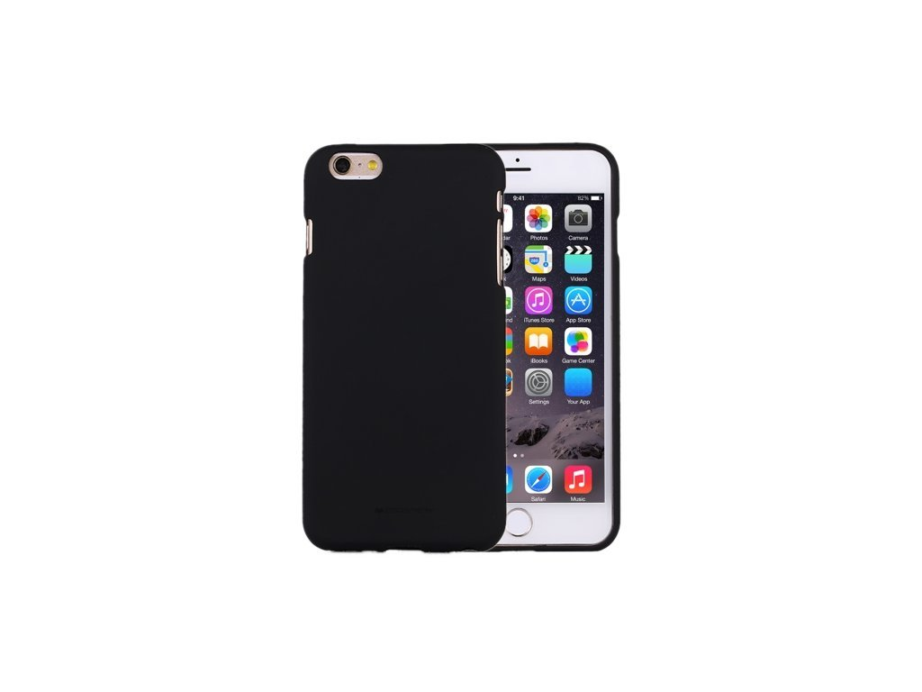 10752 ochranny kryt pro iphone 6 6s mercury soft feeling black