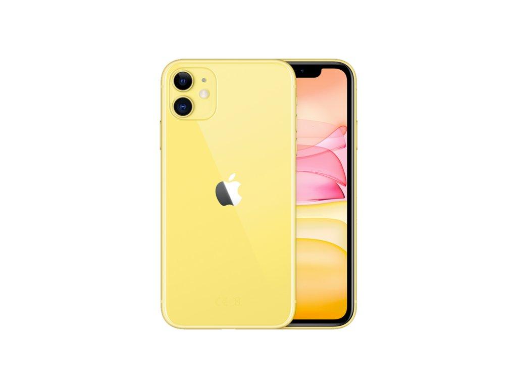 iphone 11 žlutá