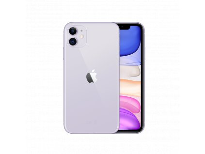 iphone 11 fialový
