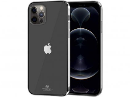 36806 ochranny kryt pro iphone 12 pro max mercury jelly transparent
