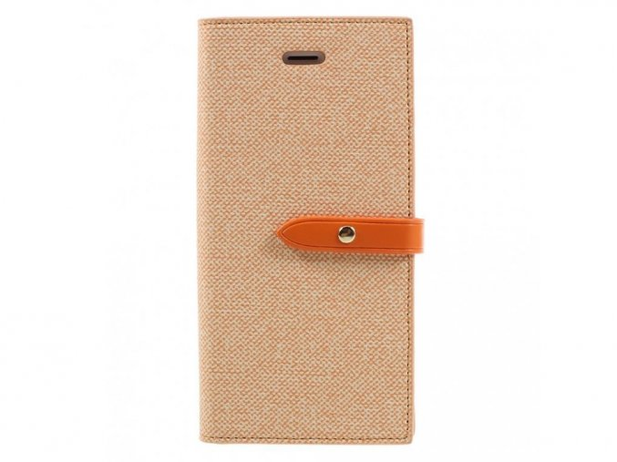 MILANO DIARY iPhone 7/8 oranžová/oranžová