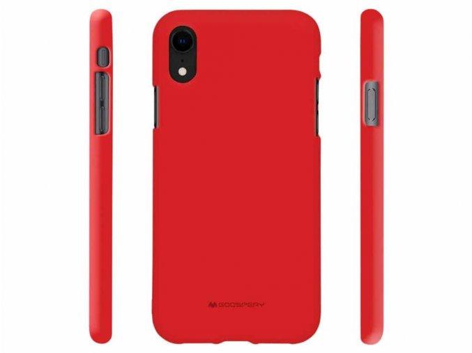 červený Kryt na iPhone Xr Mercury