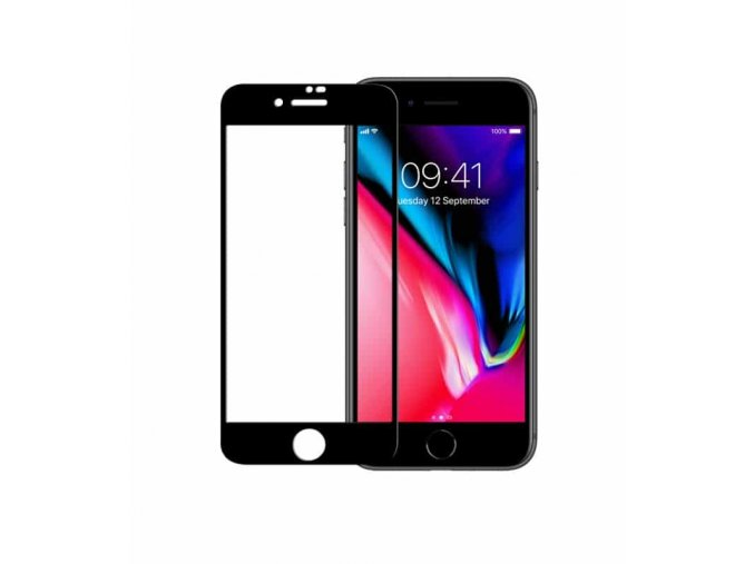 Ochranné sklo Odzu na iPhone 7/8 černé