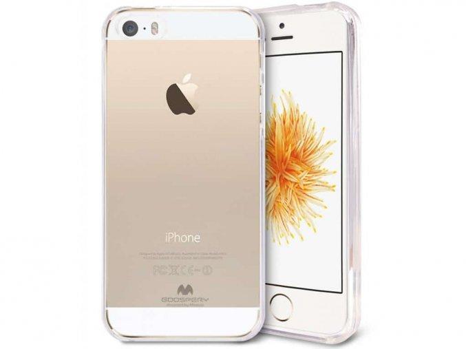 Průhledný kryt na iPhone SE
