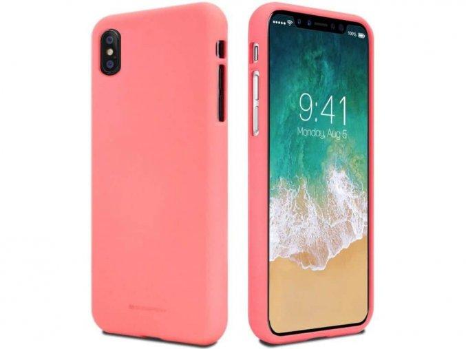 Kryt na iPhone X/Xs růžový