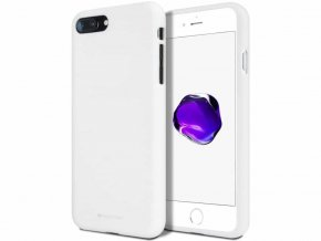 Bílý kryt na iPhone SE