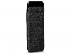 Kožené pouzdro pro iPhone 8 / 7 / 6S / 6 - Sena, UltraSlim Leather Sleeve Black